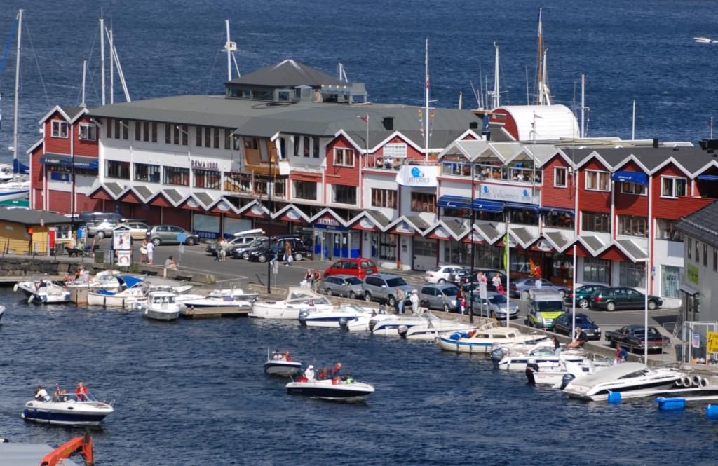 Bryggasenteret i Kragerø